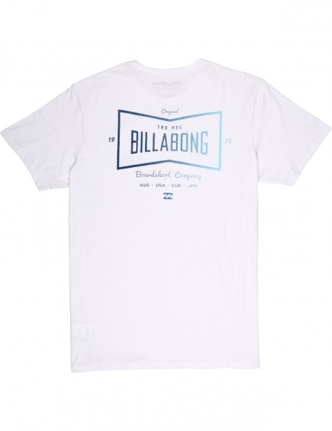 Billabong Craftman Short Sleeve T-Shirt in White