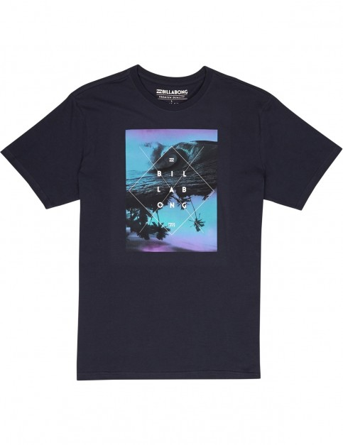 Billabong Cross Section Short Sleeve T-Shirt in Navy