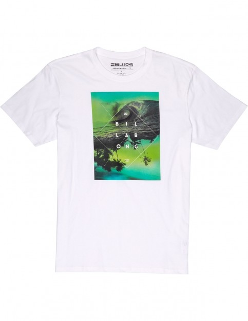 Billabong Cross Section Short Sleeve T-Shirt in White