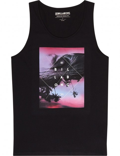 Billabong Cross Section Sleeveless T-Shirt in Black