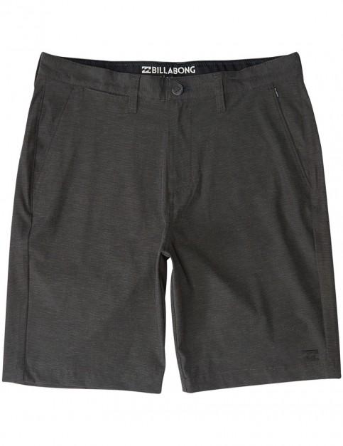 Billabong Crossfire X Amphibian Shorts in Asphalt