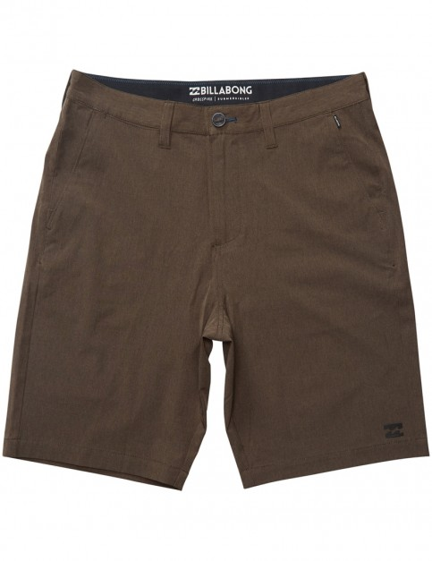 Billabong Crossfire X Amphibian Shorts in Dark Earth