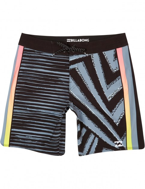 Billabong D Bah Airlite Mid Length Boardshorts in Black