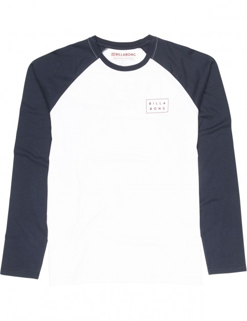 Billabong Die Cut Long Sleeve T-Shirt in Navy