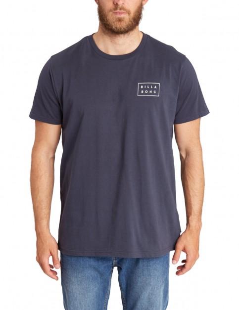 Billabong Die Cut Short Sleeve T-Shirt in Navy