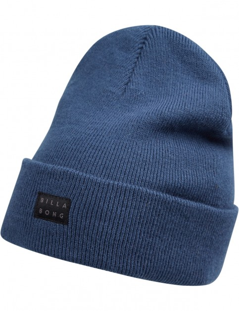 Billabong Disaster Beanie in Dark Denim