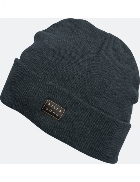 Billabong Disaster Beanie in Dark Slate Heather