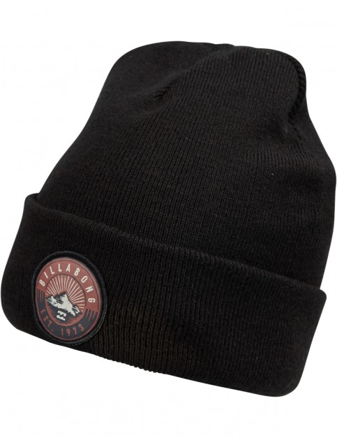 Billabong Disaster Polar Beanie in Black