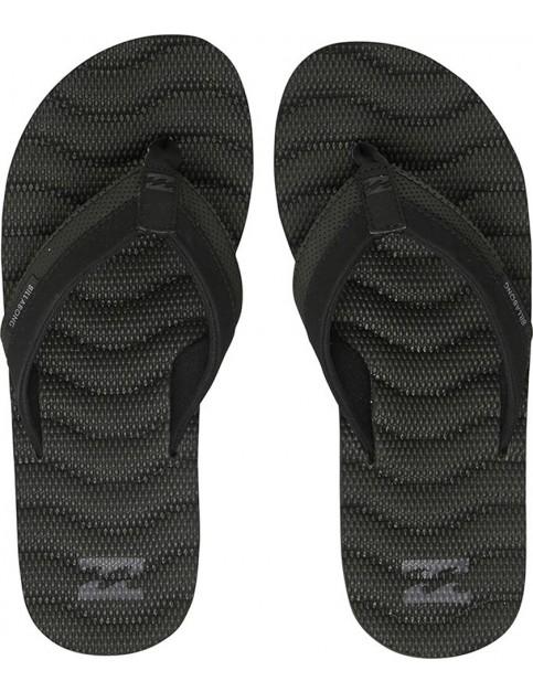 Billabong Dunes Impact Canvas Sandals in Black