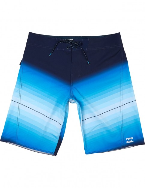 Billabong Fluid Mid Length Boardshorts in Blue