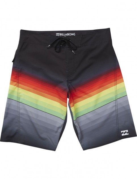 Billabong Fluid Mid Length Boardshorts in Rasta