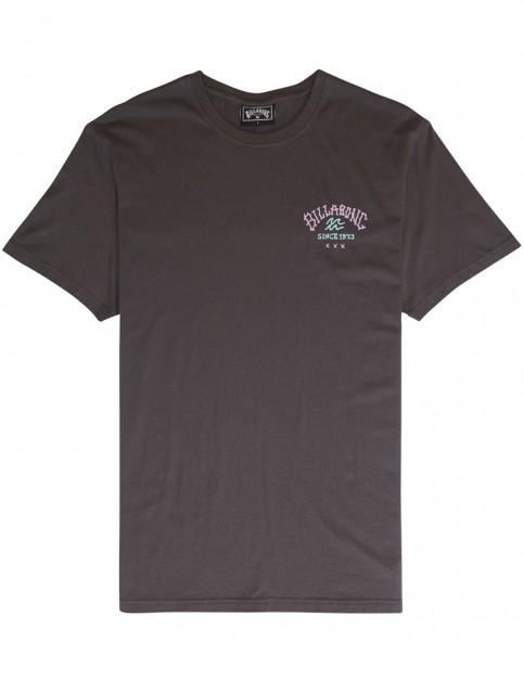 Billabong Get Back Short Sleeve T-Shirt in Char
