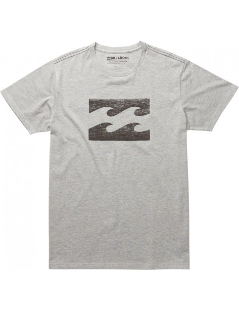 Billabong Ghosted Short Sleeve T-Shirt in Grey Heather