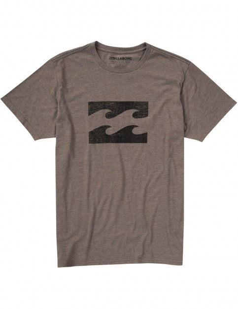 Billabong Ghosted Short Sleeve T-Shirt in Choc