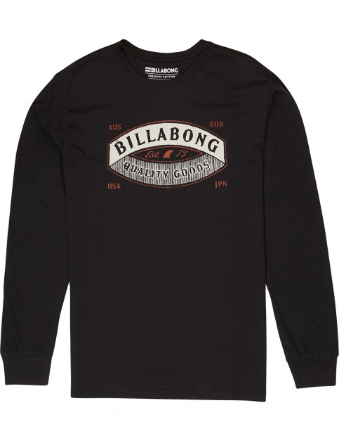 Billabong Guardiant Long Sleeve T-Shirt in Black