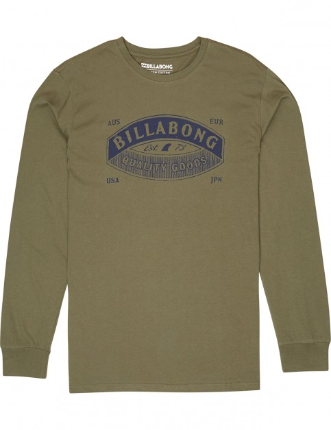 Billabong Guardiant Long Sleeve T-Shirt in Midnight