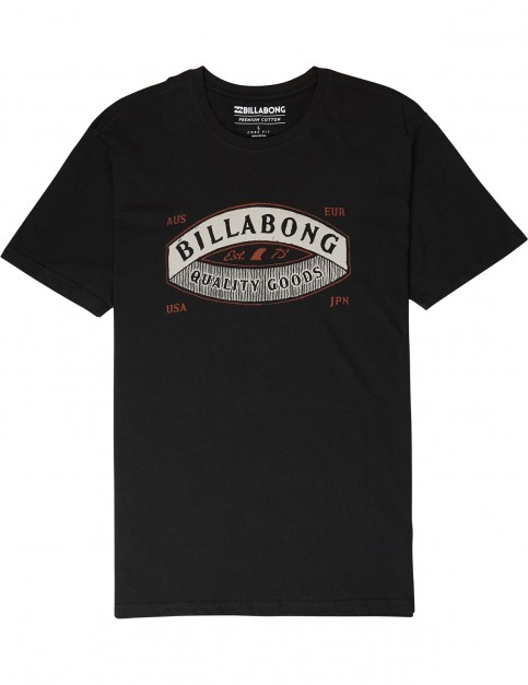Billabong Guardiant Short Sleeve T-Shirt in Black
