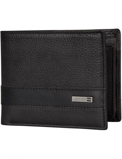 Black Billabong Highway Leather Wallet