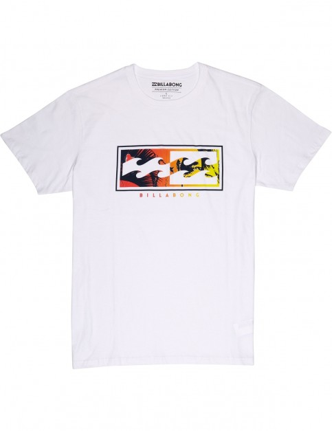 Billabong Inverse Short Sleeve T-Shirt in White