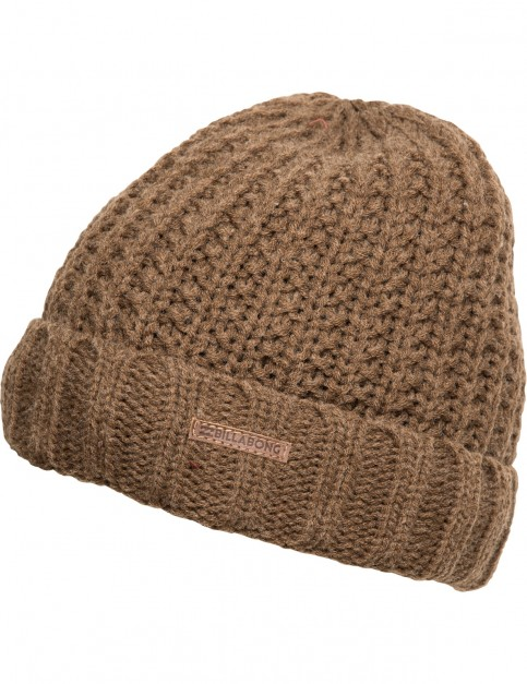 Billabong Jenkins Beanie in Chocolate Heather