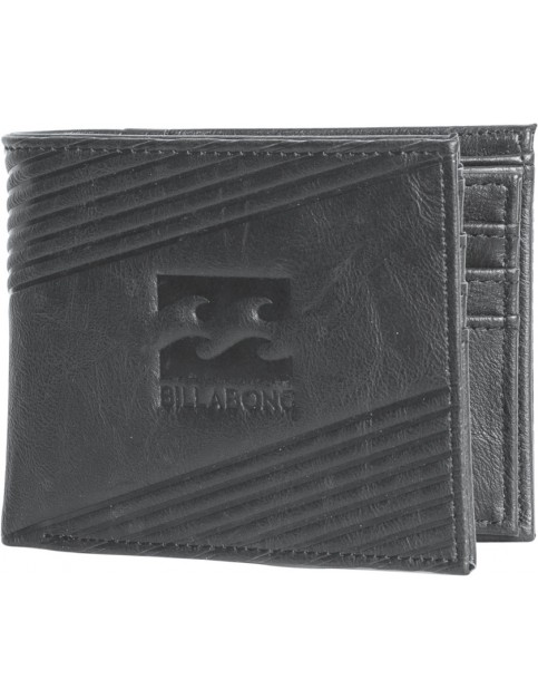 Billabong Junction Faux Leather Wallet in Charcoal