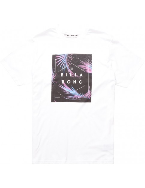 Billabong Keeper Short Sleeve T-Shirt in White
