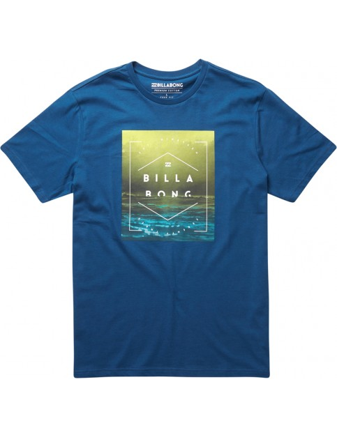 Billabong Keeper Short Sleeve T-Shirt in Dark Marine