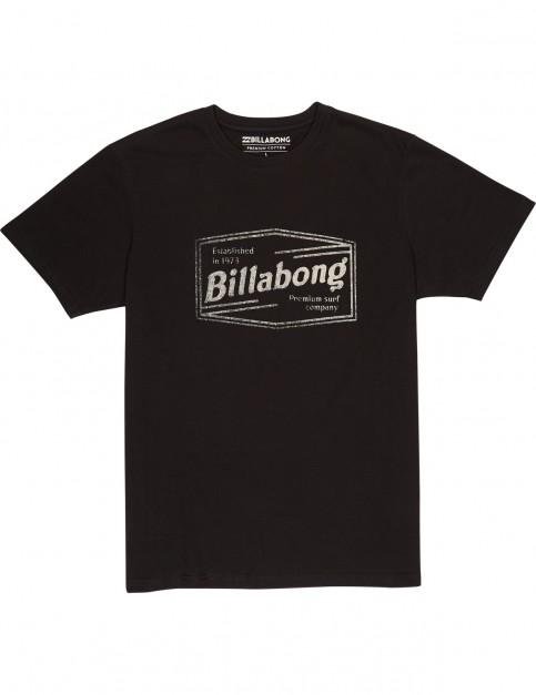 Billabong Labrea Short Sleeve T-Shirt in Black