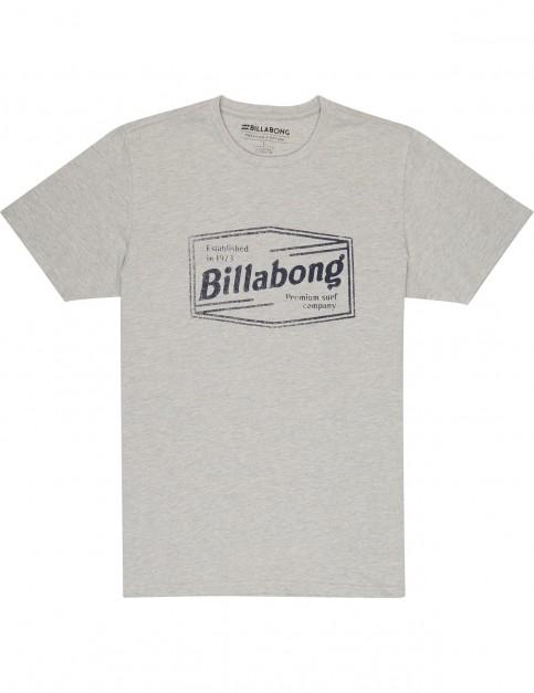 Billabong Labrea Short Sleeve T-Shirt in Grey