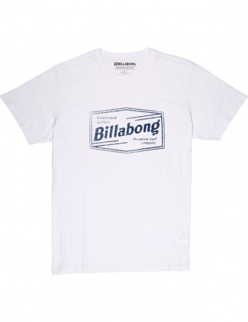 Billabong Labrea Short Sleeve T-Shirt in White