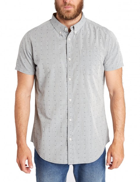 Billabong Lakota Short Sleeve Shirt in Navy