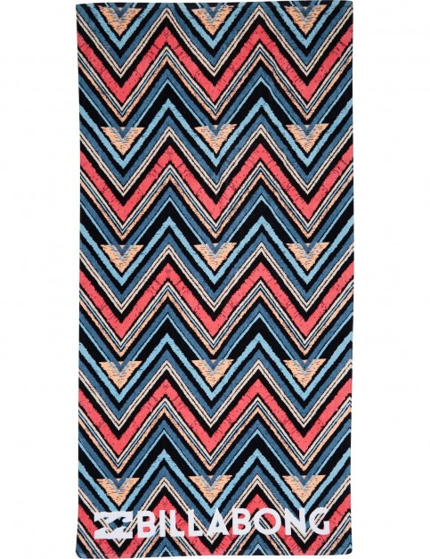 Billabong Lie Down Beach Towel in Blue Wave