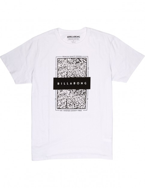 Billabong Locked In Short Sleeve T-Shirt in White