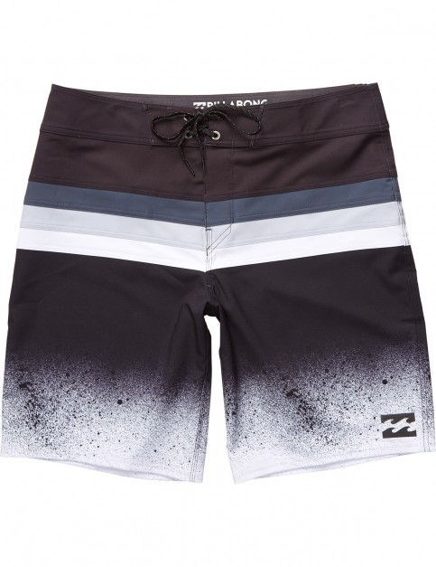 Billabong Momentum X Mid Length Boardshorts in Black