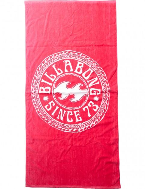 Billabong Must Be Towel in Horizon Red