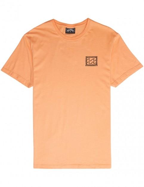 Billabong Nairobi Short Sleeve T-Shirt in Cantaloupe