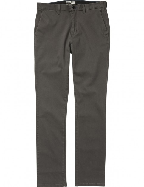 Billabong New Order Chino Chino Trousers in Raven