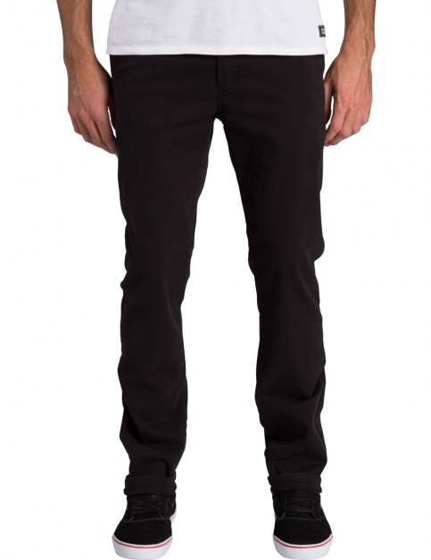 Billabong New Order Chino Slim Leg Trousers in Stealth