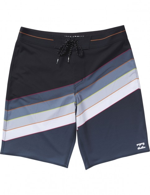 Billabong North Point Mid Length Boardshorts in Black