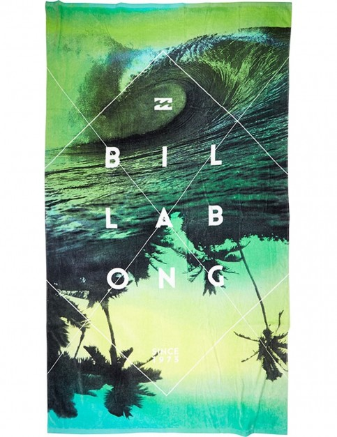 Billabong Panorama Beach Towel in Black