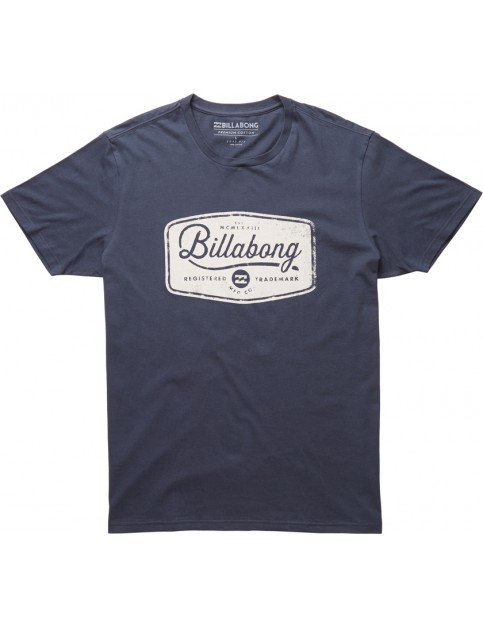 Billabong Pit Stop Short Sleeve T-Shirt in Navy