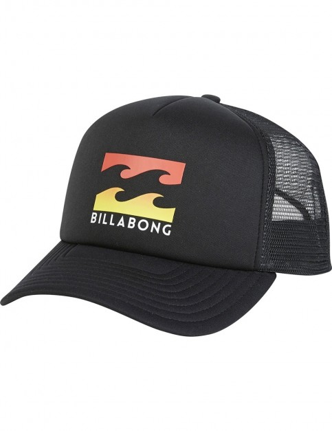 Billabong Podium Trucker Cap in Black Multi