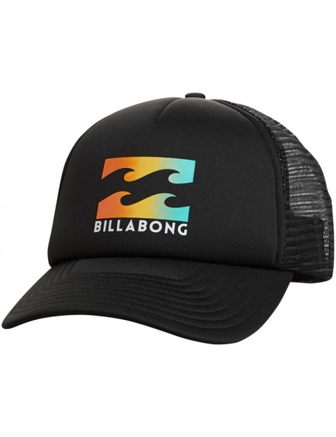 Billabong Podium Trucker Cap in Black/Yellow