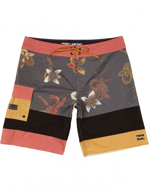 Billabong Pump Mid Length Boardshorts in Rust