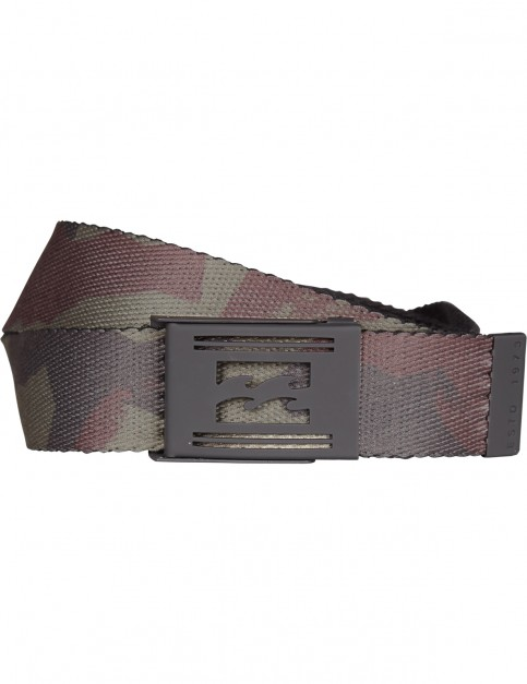 Billabong Revert Webbing Belt in Camo