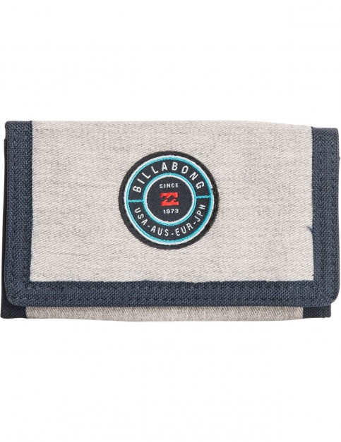 Billabong Rotor Polyester Wallet in Grey Heather