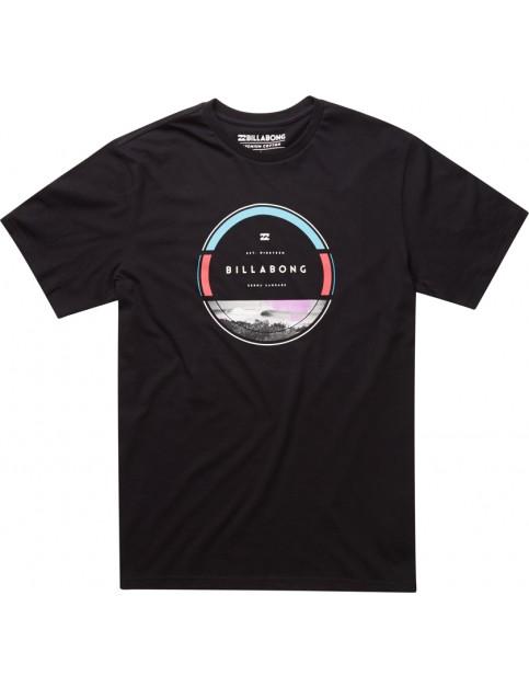 Black Billabong Rounder Short Sleeve T-Shirt