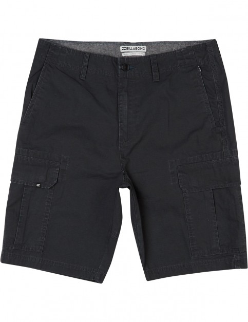 Billabong Scheme Cargo Shorts in Char