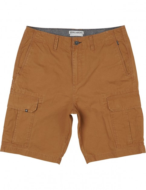 Billabong Scheme Cargo Shorts in Tobacco