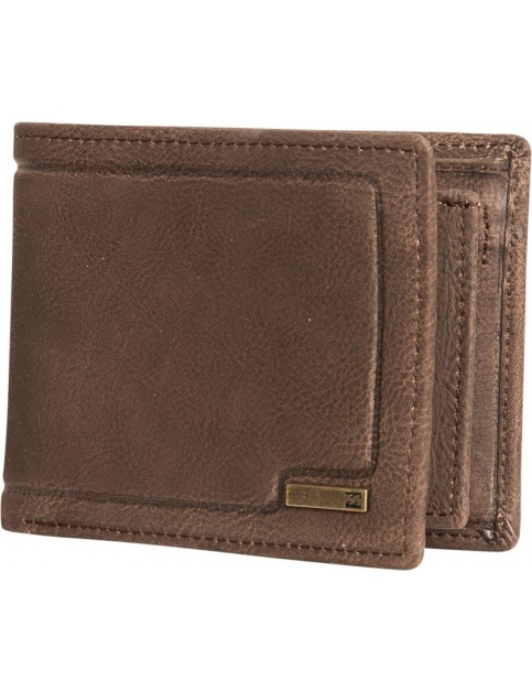 Billabong Scope Leather Wallet in Java